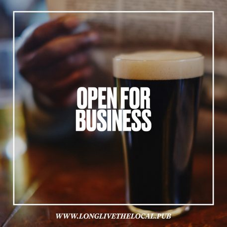 Great British Pubs open for business