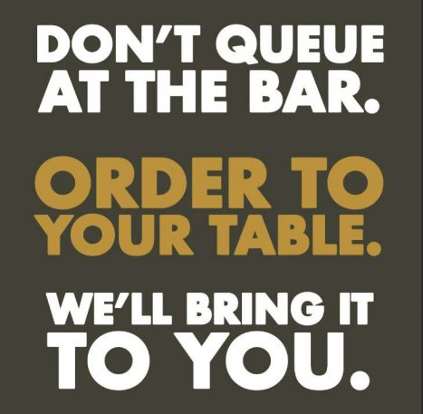 Round don't queue at the bar